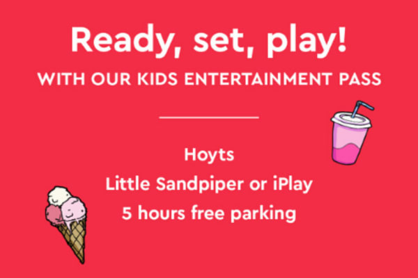 Enjoy hours of fun with our Kids Entertainment Pass
