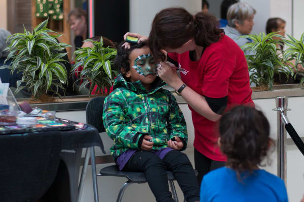 Fun and face-painting for the kids