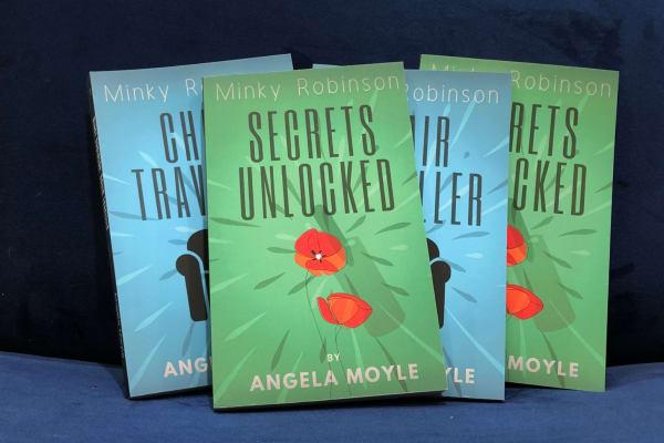 Splatter: Angela Moyle Book Signing