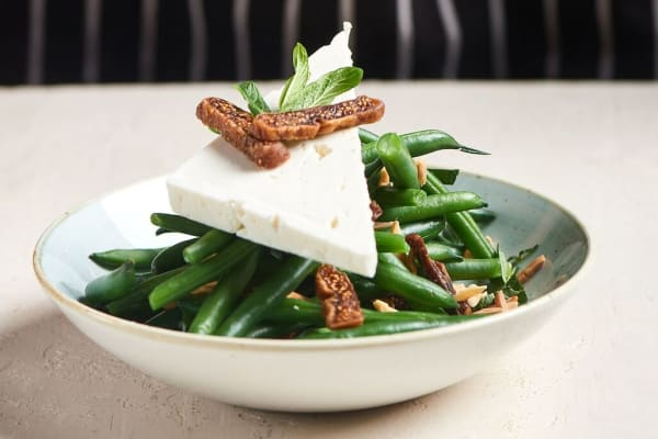 The Green Bean Salad is back for spring at Zeus.