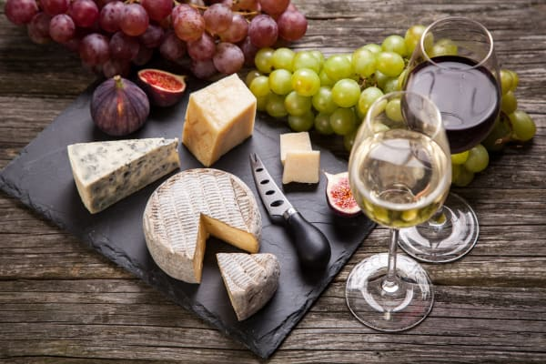 Cheese and wine pairing workshops