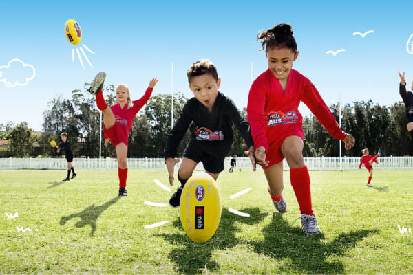 School Holidays Week 1 - AusKick Footy Fever Activity Zone
