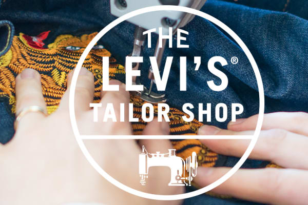 The Levi's® Tailor Shop is popping up for one night only