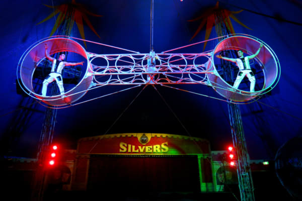 Silvers Circus is coming to town