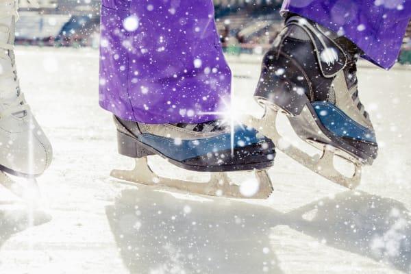 Ice Skating at Westfield Albany Plaza