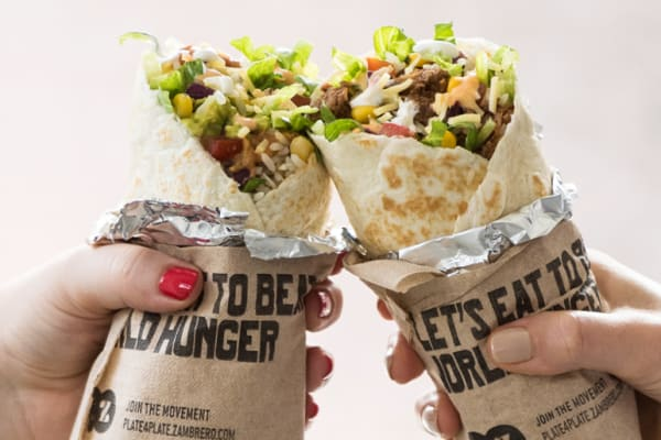Zambrero: 2 for 1 classic burritos and bowls