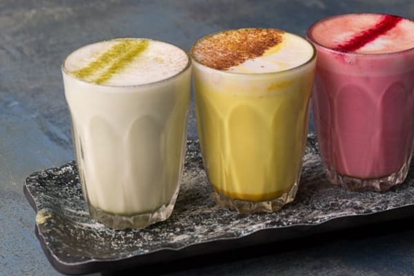 On trend : Colourful lattes are more than a colour shock