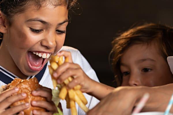 Lone Star Rib House: Kids eat free!