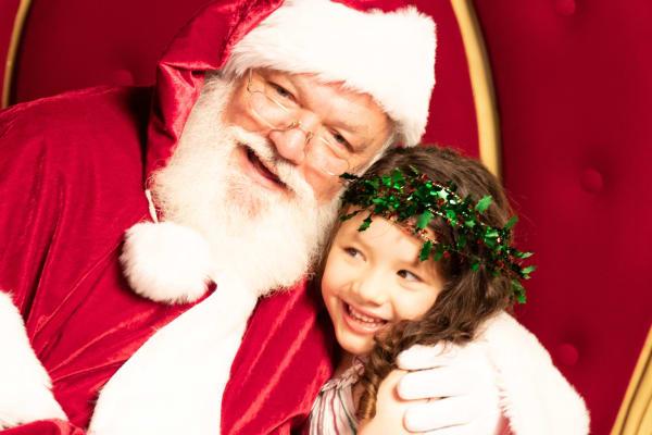 Sensitive Santa photography