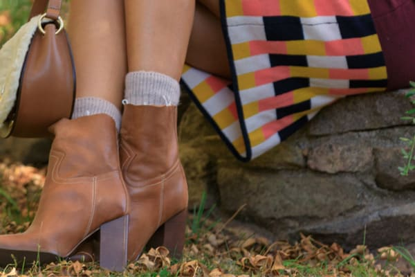 Finishing touch: boots and bags that add something extra