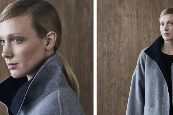 Trenery: sound investment - the double faced coat