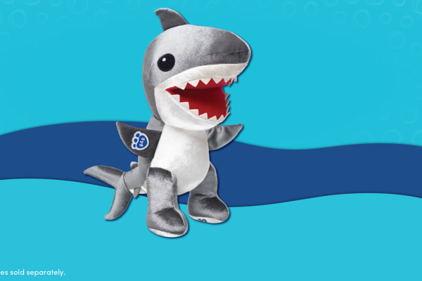 Build-A-Bear Workshop: NEW Great White Shark