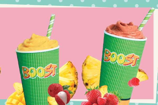 Boost Juice: Pineapple With A Twist