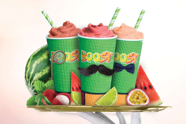 Boost Juice: Fancy Watermelon