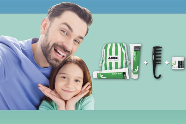 Just Cuts: JUSTICE Professional Daddy Cool Father's Day pack