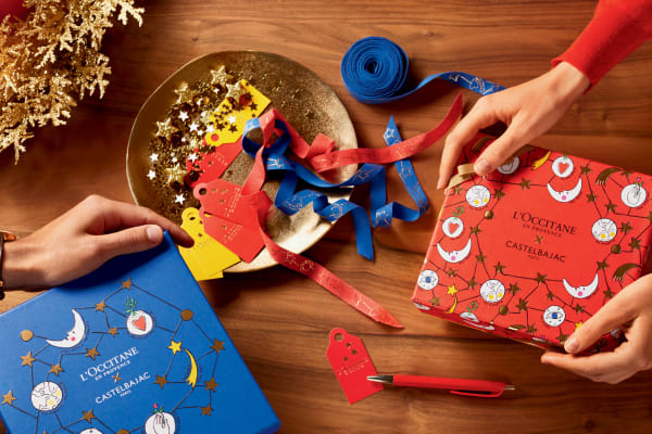 Learn the art of gift wrapping with L'OCCITANE