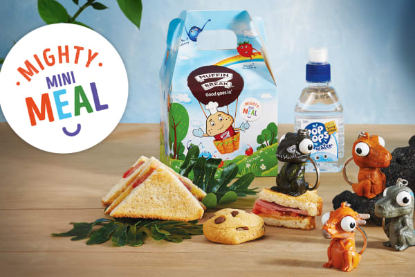 Jurassic Mighty Mini Meal has arrived at Muffin Break