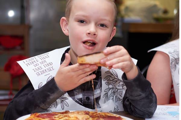 Vapiano: Kids eat free!