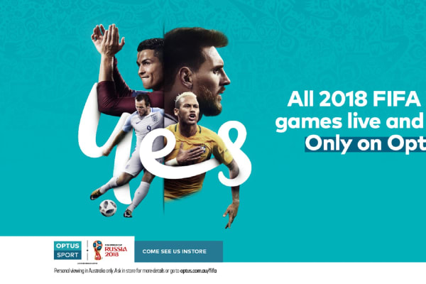 Optus: 2018 FIFA World Cup