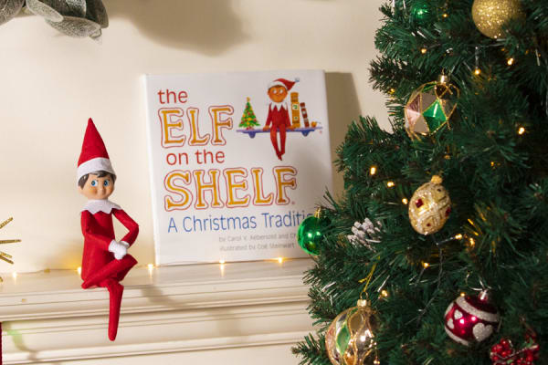 Celebrate the magic of Christmas with Elf on the Shelf