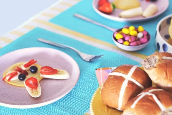 Bunny pancakes perfect for your Peter Rabbit obsessed kids