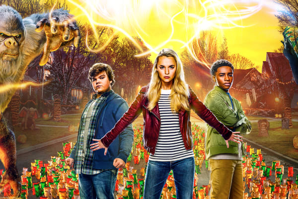 Win 1 of 10 family passes to see Goosebumps 2 Haunted Halloween