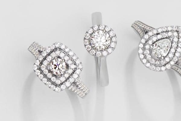 Bevilles: Love by Michelle Beville engagement rings