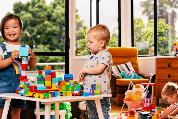 Monty Mornings with LEGO® DUPLO® bricks are back for 2019