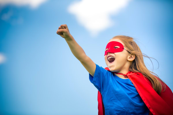 School holiday workshops - Superhero School!