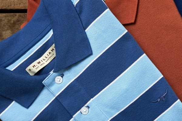 R.M. Williams: fathers day - 30% off men's polos