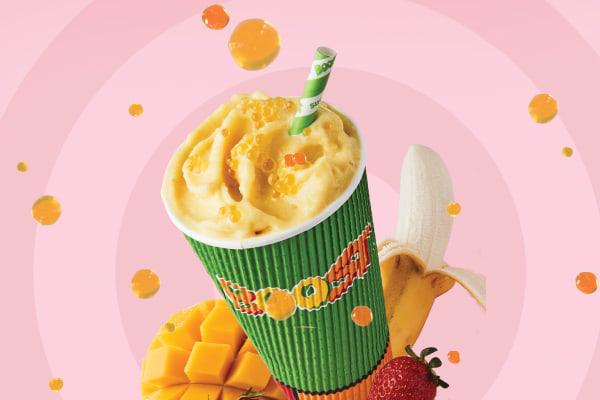Boost Juice: Mango bobbles are here!