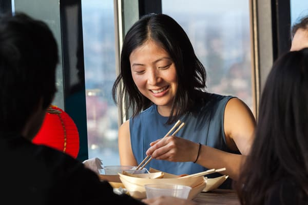 Sydney Tower Eye: all you can eat dumplings