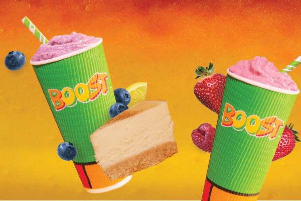 Boost Juice: I can't believe it's not cheesecake