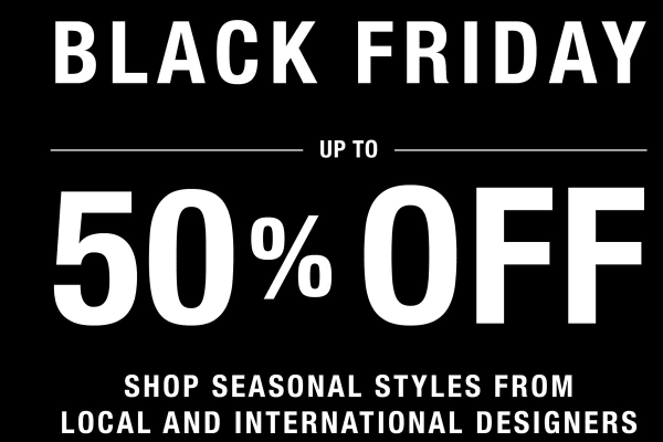 Harrolds: Black Friday