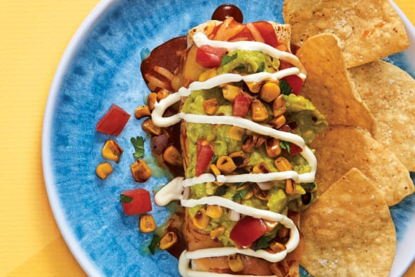 Salsas Fresh Mex: Loaded Mini Burrito