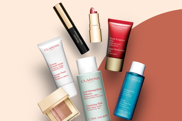 David Jones: bonus 7-piece gift when you buy 2 Clarins products*