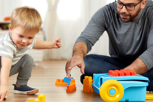 The MEGA BLOKS Take-Along Builder is the perfect family toy!