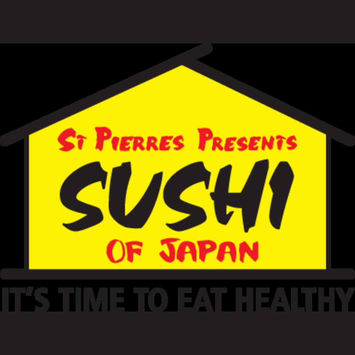 Image result for st pierres sushi logo