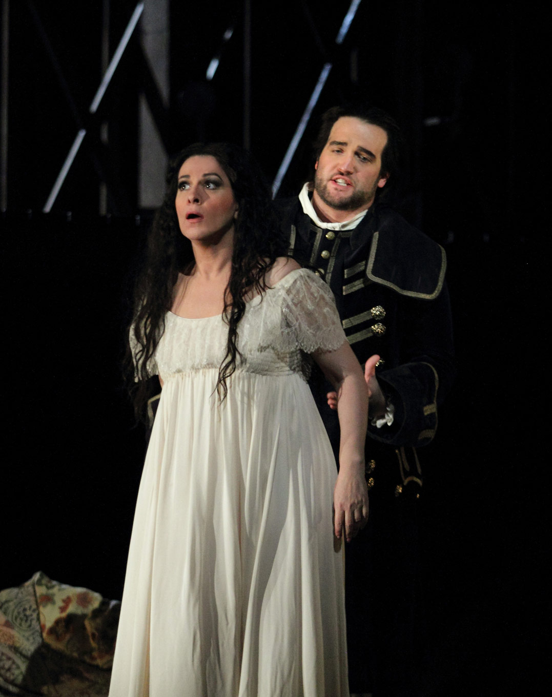 Angela Gheorghiu Adriana And Brian Jagde Maurizio In Lecouvreur ROH 2017 Photo By Catherine Ashmore