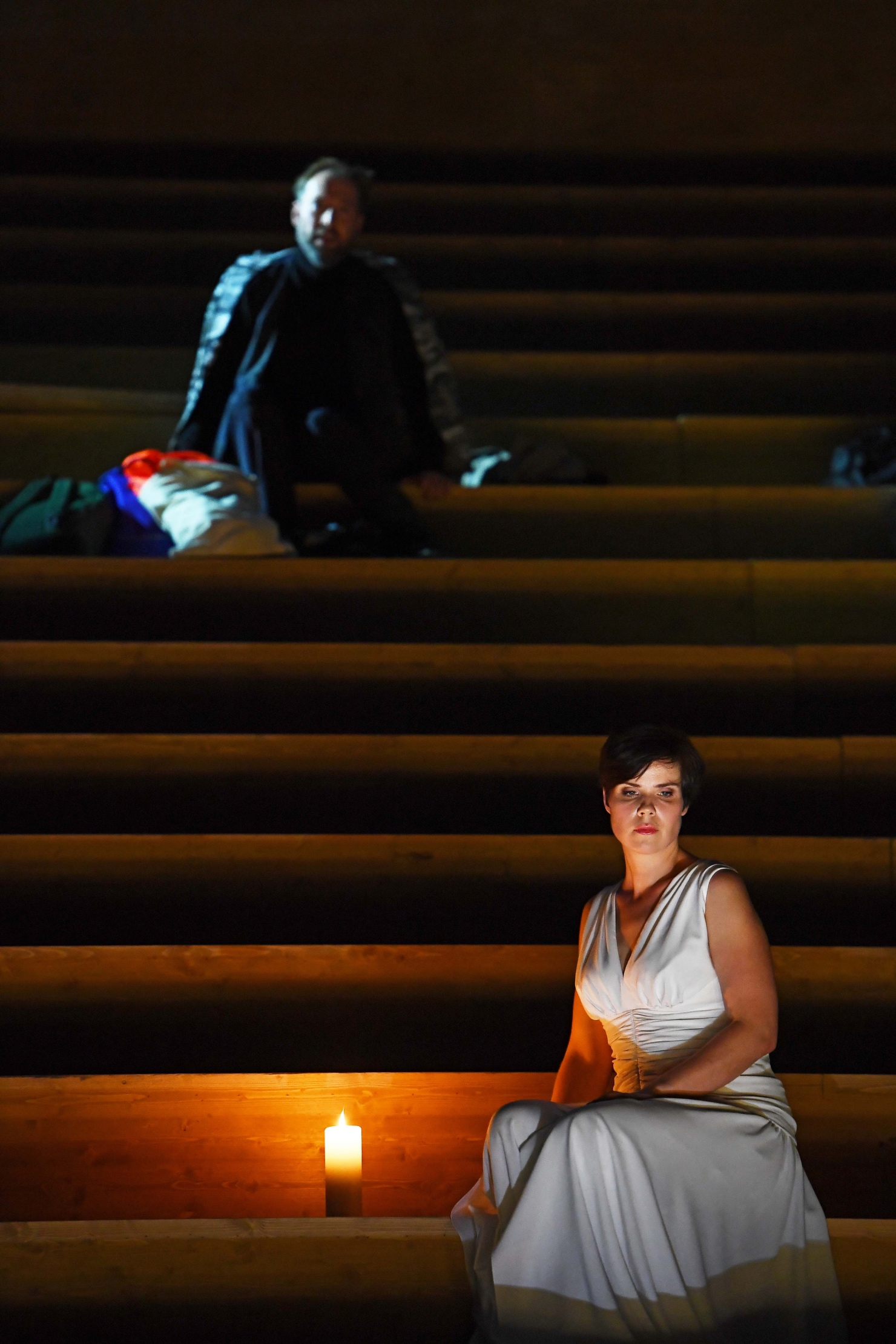 Projecting on opera: Oper Frankfurt's Radamisto in revival