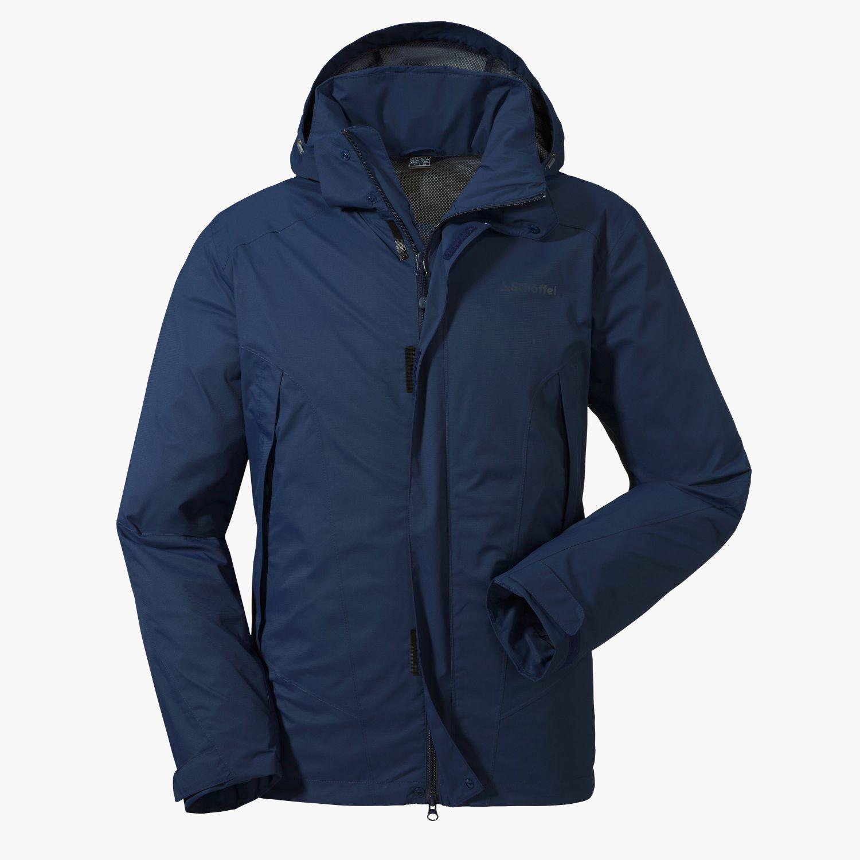 picked up limited guantity cheap sale Jacket Easy M3 blau | Schöffel