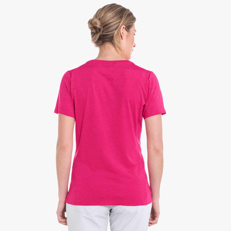 Bestbewerteter Rabatt größte Auswahl von 2019 Mode T Shirt Kashgar Rot | Schöffel