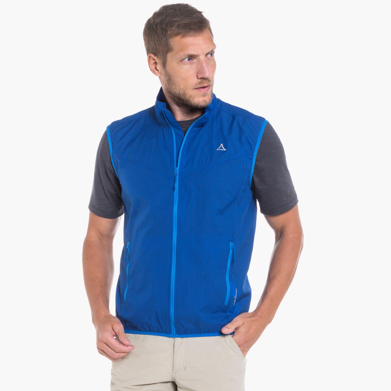 Windbreaker Vest M1 blau | Schöffel