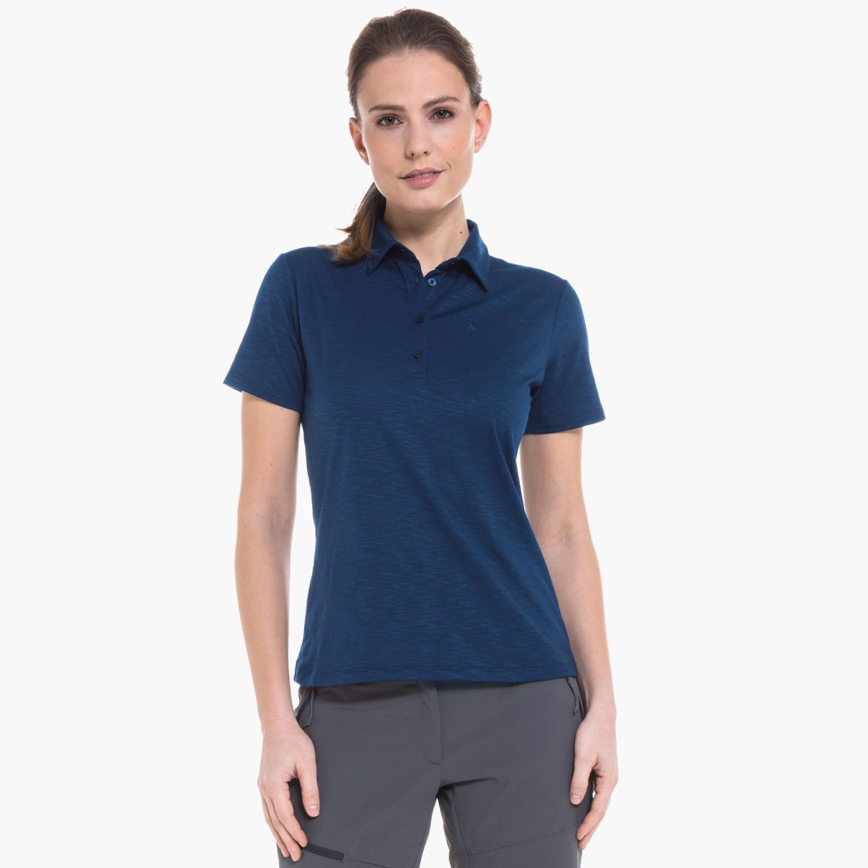 hot sale online new products 2018 sneakers Polo Shirt Capri1 blau | Schöffel