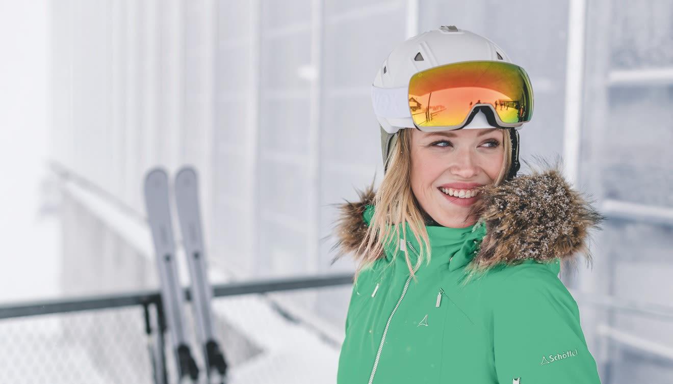 Die perfekte Skijacke