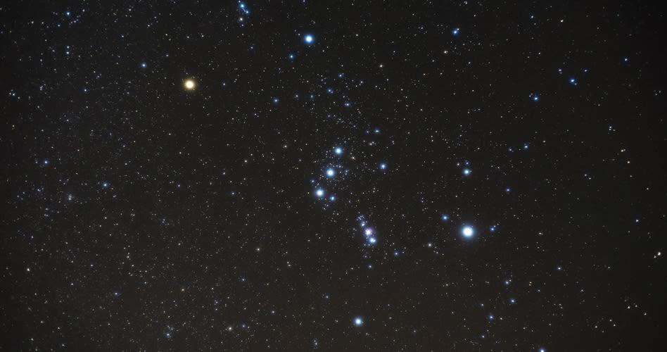Nachtwanderung Sterne