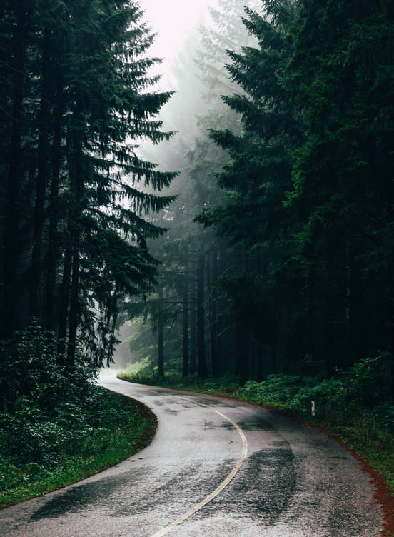 Spazieren im Regen