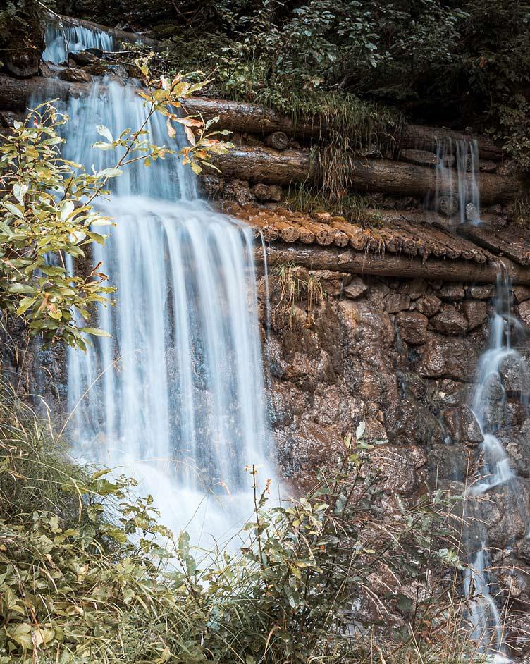Wasserfall im Rotmoostal
