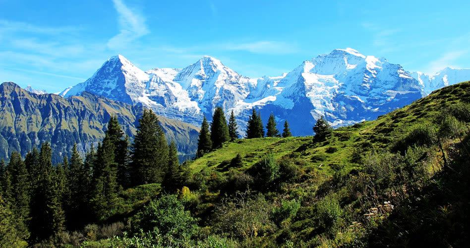 Aussicht Grindelwald