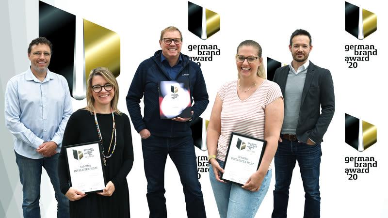 Intellitex Heat German Brand Award Auszeichnung